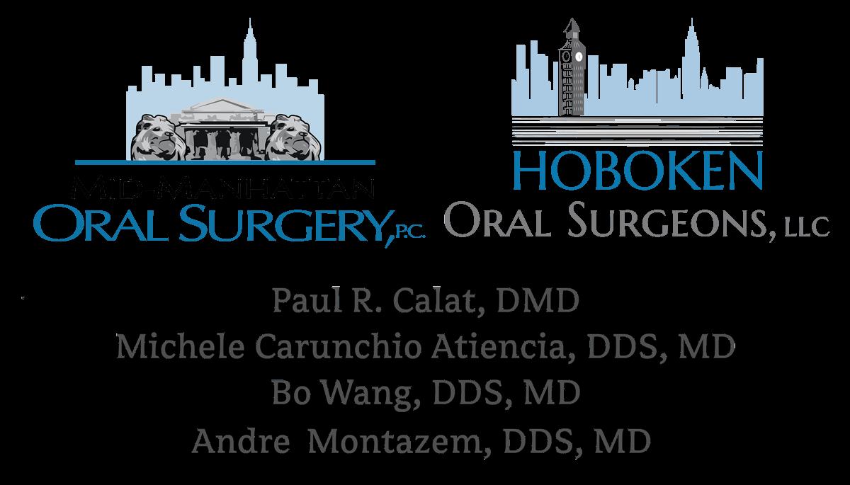 Mid-Manhattan and Hoboken Oral Surgery logos
